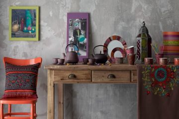 Original Interior Design Items with Ukrainian Folk Motifs