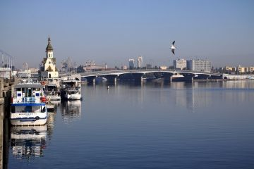 Dnipro River Boat Trips