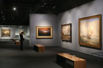 Great Exhibition Dedicated to Ivan Aivazovsky at Odesa History Museum
