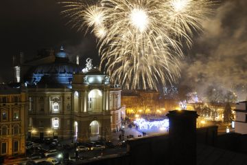 Top 5 Destinations for New Year 2018 Celebration in Ukraine