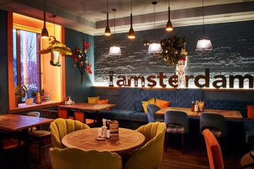 Amster Damster Restaurant and Bar in Kyiv