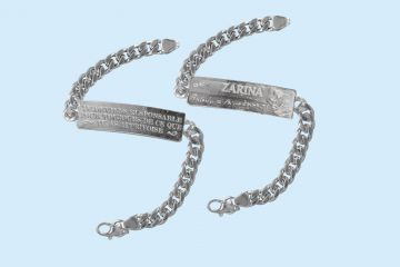 Limited Collection of Men's Bracelets from ZARINA Jewelry House