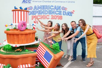 American Independence Day 2018 Picnic Held in Kyiv