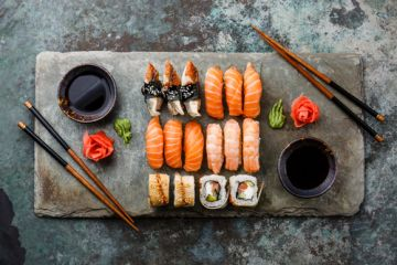Top 7 Places to Eat Sushi in Kiev