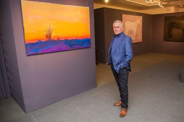 Anatoly Kryvolap's Exhibition in Kyiv