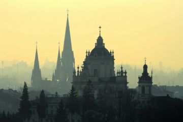 Places with the best views of Lviv
