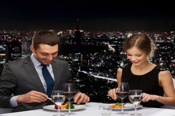 Top-5 restaurants with panoramic view