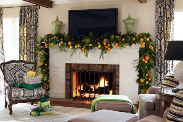Christmas Home Decorating Ideas of Interior Designer Oksana Lazarets