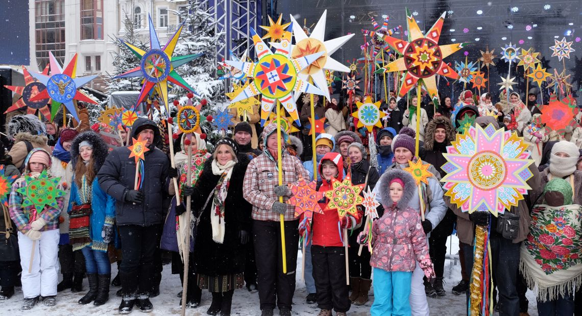 The Tradition Of Singing Christmas Carols In Ukraine