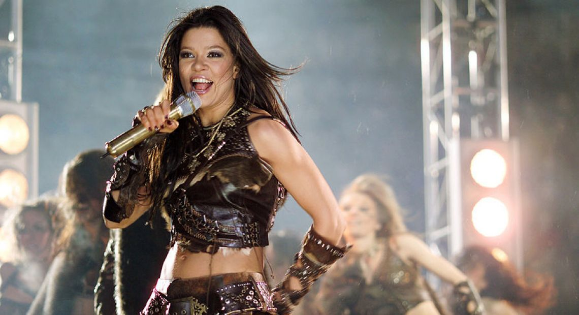 Ruslana: Ukrainian winner of Eurovision 2004