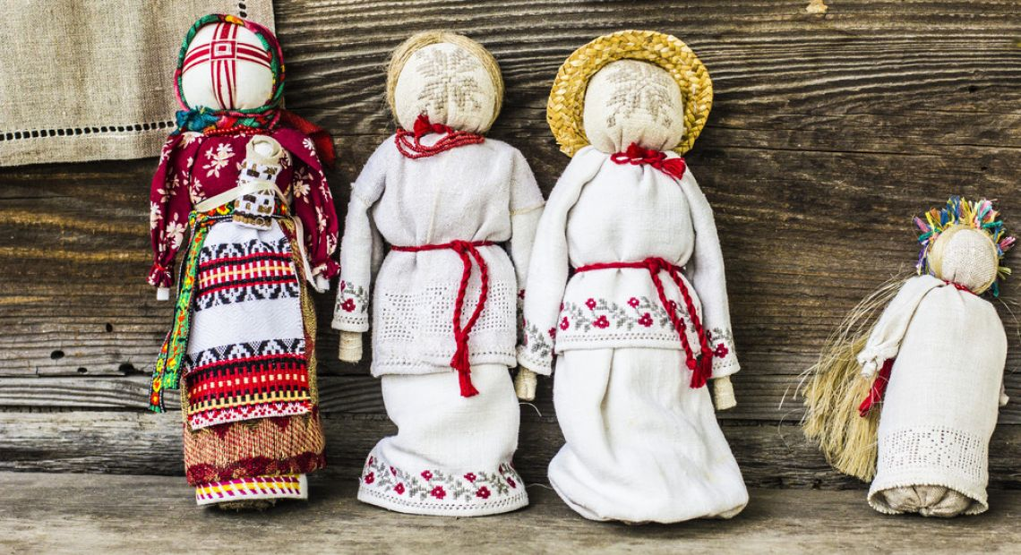 Motanka - Traditional Ukrainian Doll