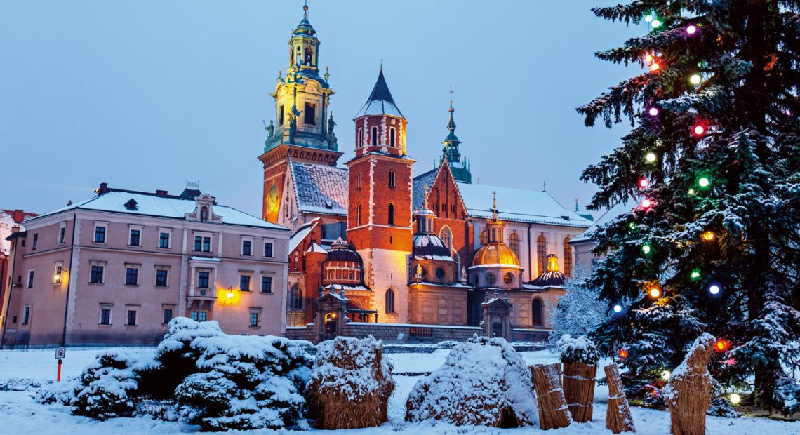 Winter Krakow