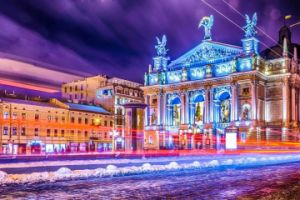 Lviv Opera House in Ukraine
