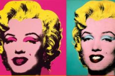 Marylin Monroe by Andy Warhol