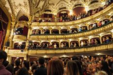 People in luxurious Opera