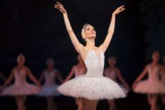 Ballerina in Swan Lake