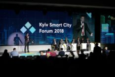 Kyiv Smart City Forum 2018 stage