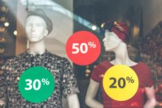 Mannequins with discounts