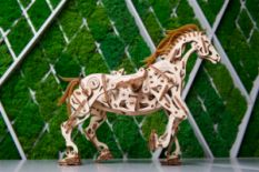 Ugears mechanical 3D puzzle horse