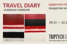 Travel Diary exhibition logo