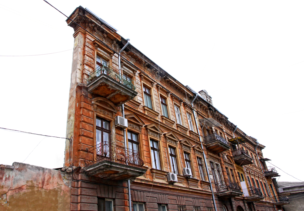 One Wall House in Odesa