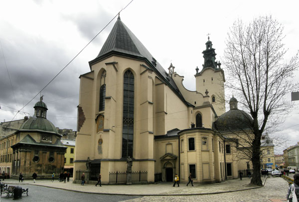 Latin Cathedral Is One of Lviv's Most Impressive Churches
