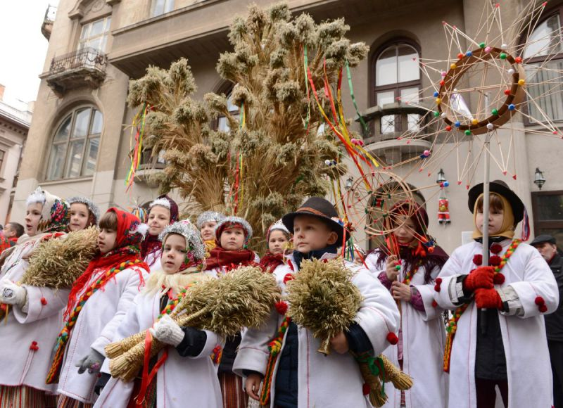 Orthodox Christmas Celebrations in Lviv