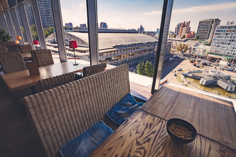 Best Restaurants with Spectacular Views in Kyiv 2017