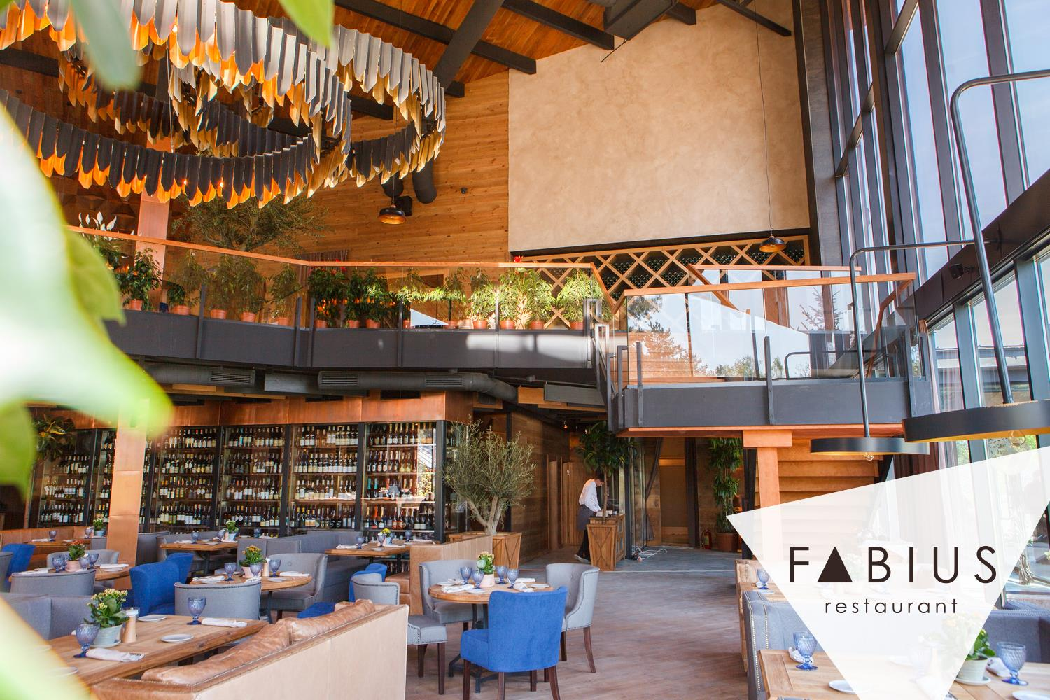Restaurant Fabius: Cheese Farm, Eco Green-House and Artisan Bakery