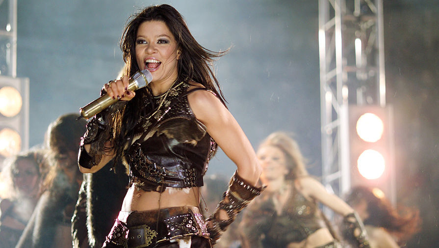 Ruslana: Ukrainian winner of Eurovision Contest 2004