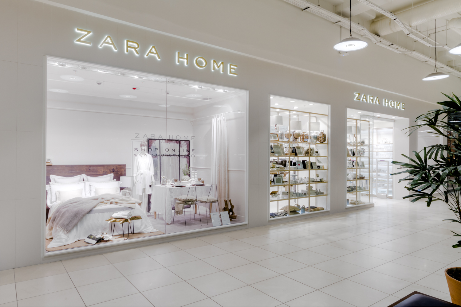 The First ZARA HOME in Kyiv Gulliver Shopping Mall