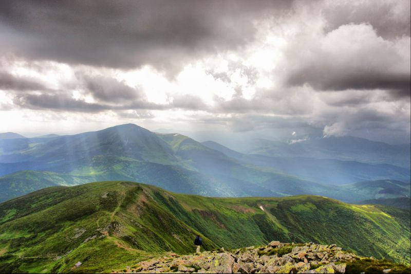 Top Mountains in Ukraine