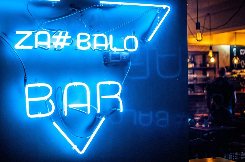 The New Za#balo Bar in Kyiv