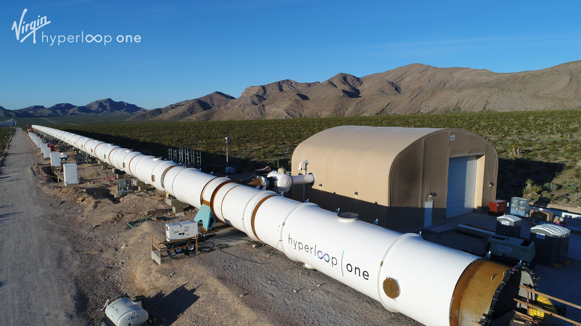 hyperloop construction