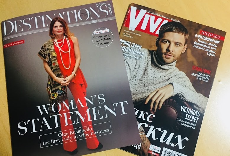 Destinations magazine and Viva