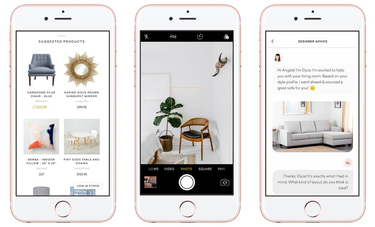 Havenly Gives An Opportunity To Chat With Your Very Own Interior Designer  And Get Tips For Free. Users Can Pick A Designer They Like Or Take A Quiz  To Get A ...