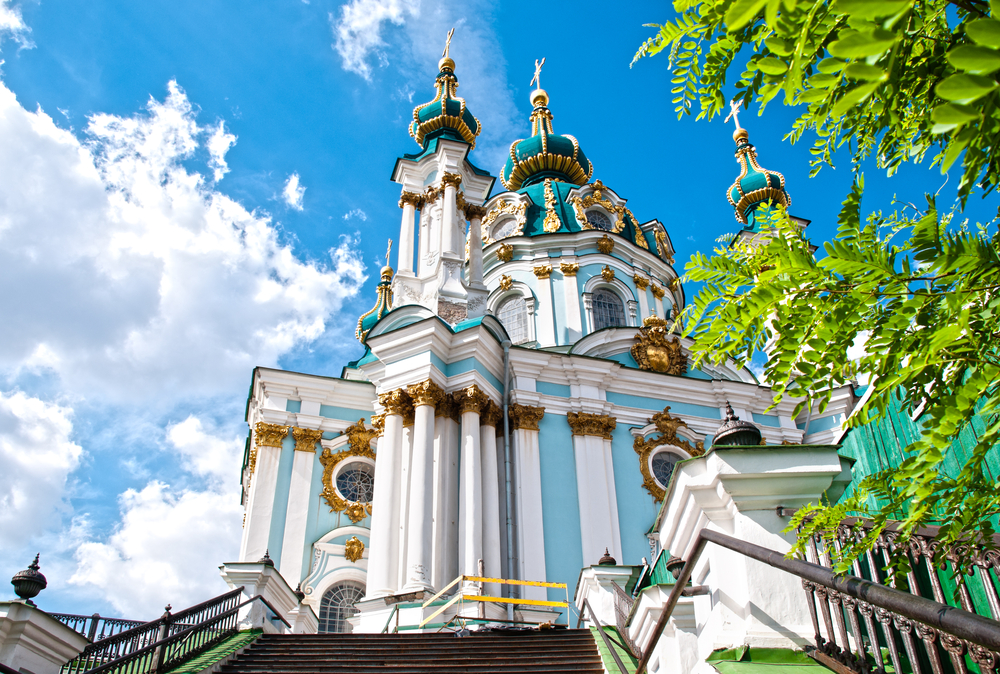 St. Andrew`s church in Kyiv