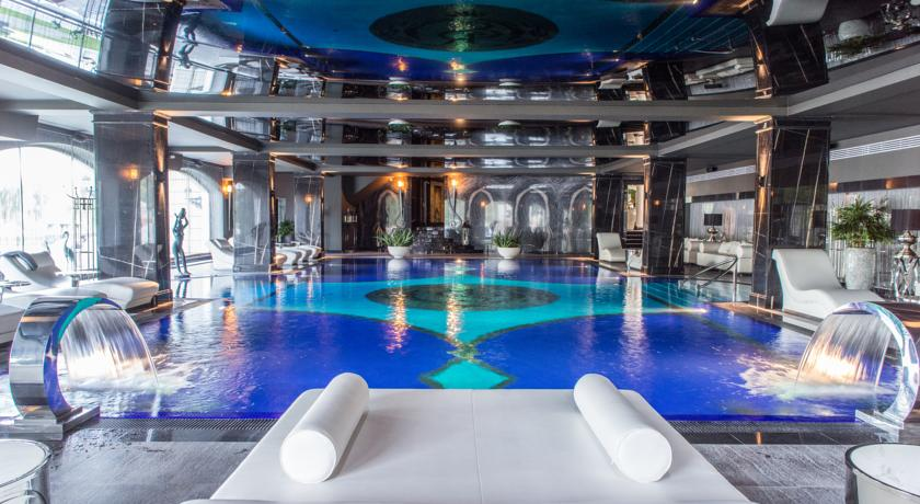 gorgeous pool in SPA hotel