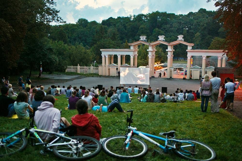 Lviv Outdoor Summer Cinema