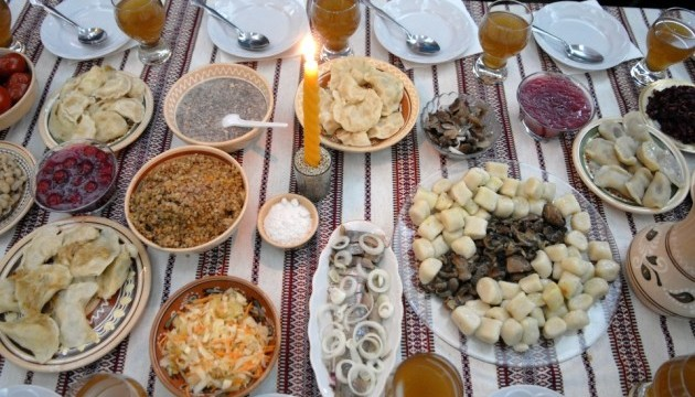Ukrainian Christmas food