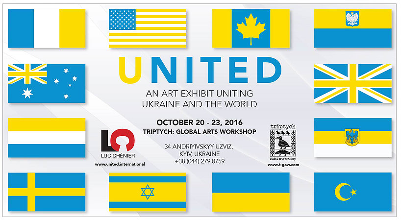 An Art Diplomacy Project by Luc Chenier in Kyiv