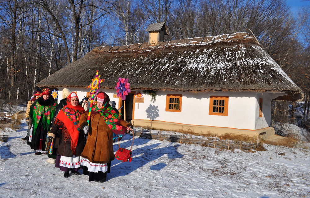 christmas in kyiv folk museum