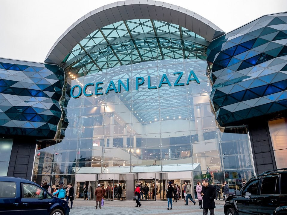 Ocean Plaza shopping mall in Kyiv