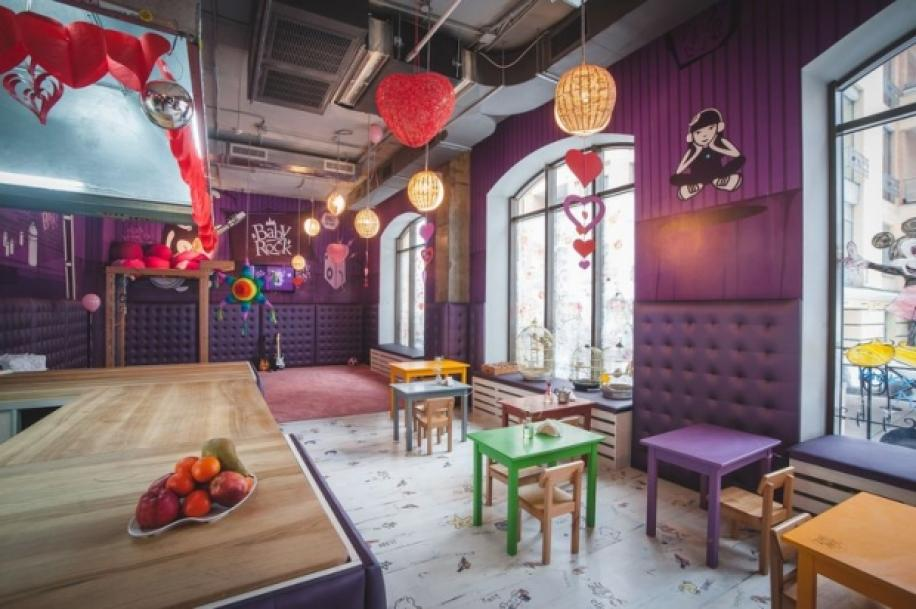 BabyRock café: a small wonderland for kinds in Kyiv