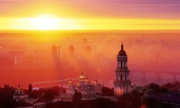 Kiev entered the top-20 cities list with the most beautiful sunsets