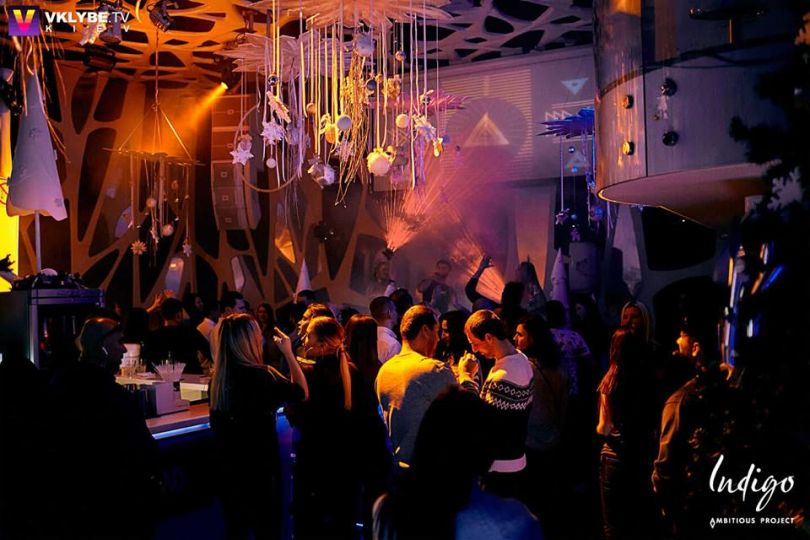 Indigo club in Kyiv