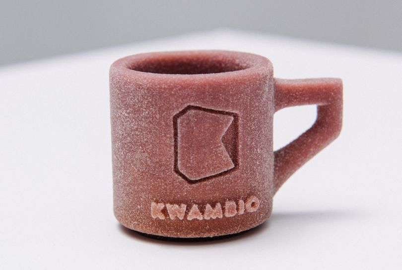 cup made in 3d printer
