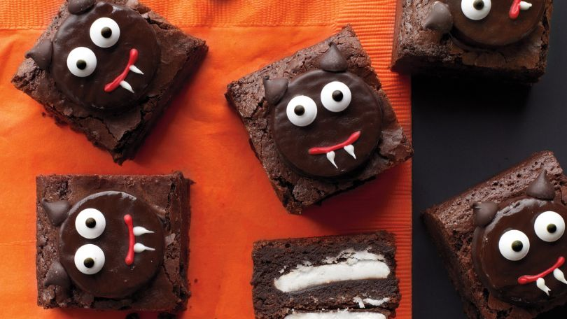 Scaredy Cat Brownies