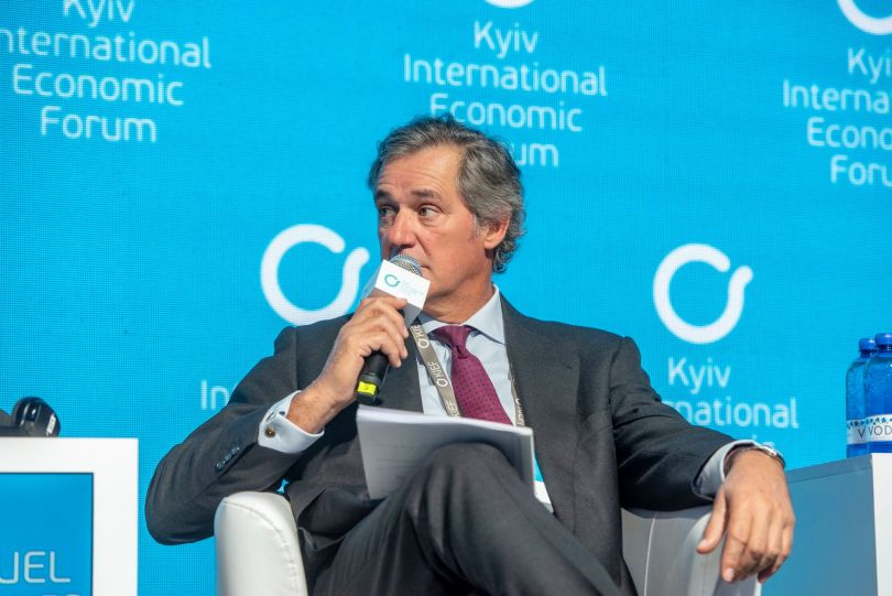 Jose Manuel Entrecanales Chairman and CEO of ACCIONA at KIEF 2018