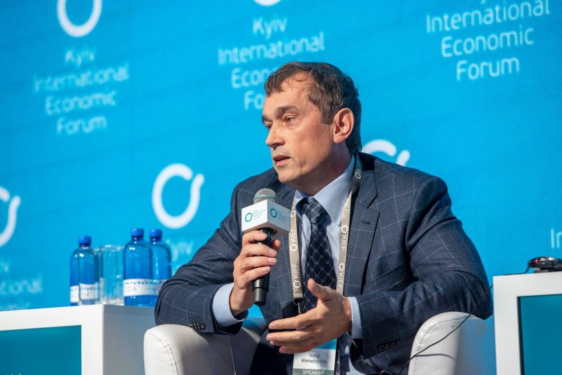 Vasyl Khmelnytsky, initiator of the KIEF, Founder of UFuture Investment Group at KIEF 2018